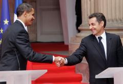 Obama, Sarkozy discuss Iran, G20 Summit