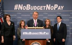 Class divide in 'no budget, no pay?'