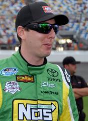 Busch takes 100th NASCAR victory