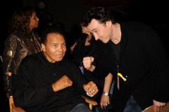 Muhammad Ali receives Liberty Medal