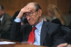 Greenspan: Double-dip recession possible