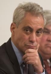 Chicago Mayor Rahm Emanuel jumps on the Hillary Clinton for President bandwagon