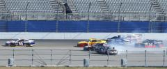Injury sidelines NASCAR driver Hamlin