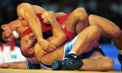 Russian wrestlers again gold threats