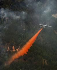 Epidemic of wildfires hits northern California
