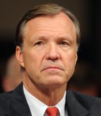 Cox reviews tenure as SEC chairman