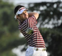 Double eagle has Luiten tied for lead in Durban