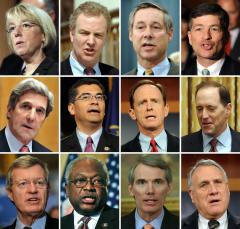 Lobbyists swamp supercommittee members