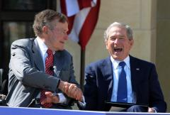 President George W. Bush pens biography of George H.W.