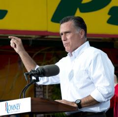 Romney calls Obama campaign a 'disgrace'