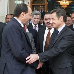 Sarkozy, Iraqi VP to meet in Paris