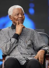 Mandela celebrating 90th birthday