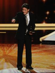 Charlie Sheen presents Lead Actor Comedy Emmy
