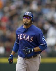 Rangers' Cruz on DL for third time in '10