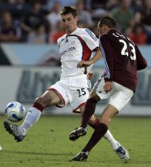 Clark of Colorado Rapids out for season