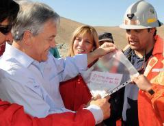 Miners' familes complain of 'politics'