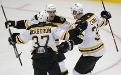 Bruins forward Patrice Bergeron hurt again