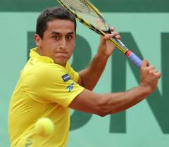 Almagro, rain come out ahead at Barcelona Open