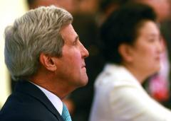 Secretary Kerry arrives in Afghanistan to discuss political transition