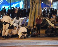 200 arrests made in Occupy LA eviction