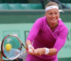 Kvitova keys Czech's Fed Cup hope in Italy
