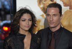 McConaughey's gal pal gives birth to boy