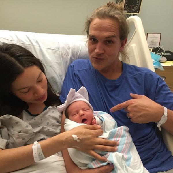 Jason mewes wife jordan monsanto welcome baby girl for Jordan monsanto