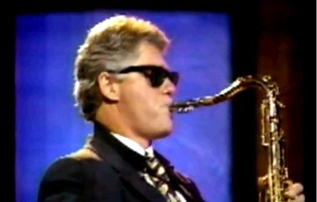 WATCH: Bill Clinton plays his saxophone on Arsenio Hall ...