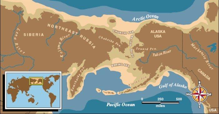 Study Land Bridge Once Linking Siberia And Alaska Was