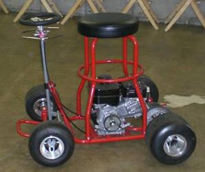 Motorized barstool sells for 1 125 for Motorized bar stool for sale