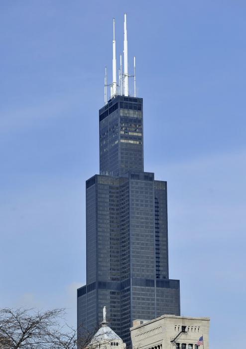 Willis Tower Formerly Sears Tower Sold For 1 3b