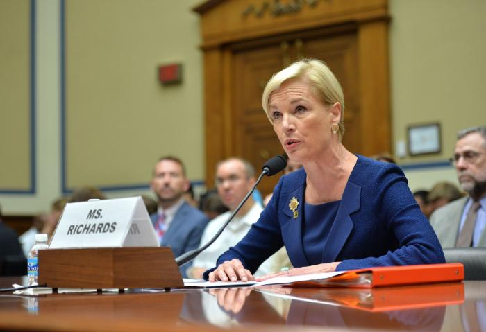 Cecile Richards in Congress