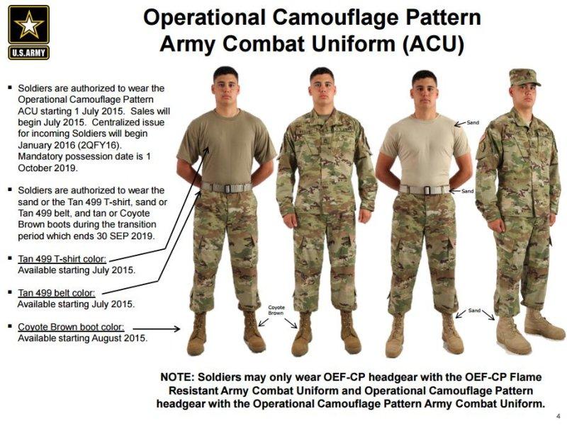 Army New Combat Uniform 104
