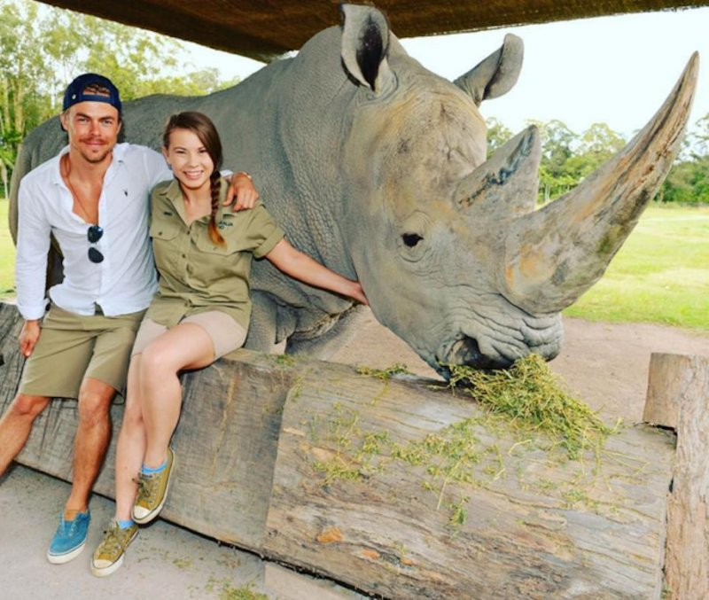 Patient Of The Week At Australia Zoo: Bindi Irwin, Derek Hough Spend Time Together In Australia