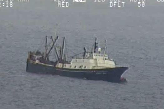 Coast Guard Releases Video of 46-Person Bering Sea Rescue