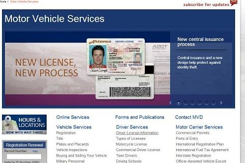 Arizona Motor Vehicles Department Issues Licenses With Incorrect Photos And Signatures