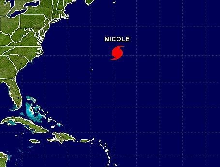 Hurricane Nicole Stronger, Aims for Bermuda