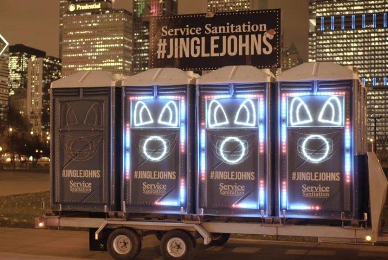 Watch: 'Jingle Johns' singing toilets take on 'Go Cubs Go' – UPI