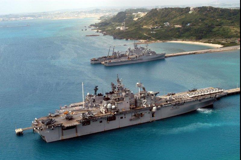 US naval presence in Okinawa