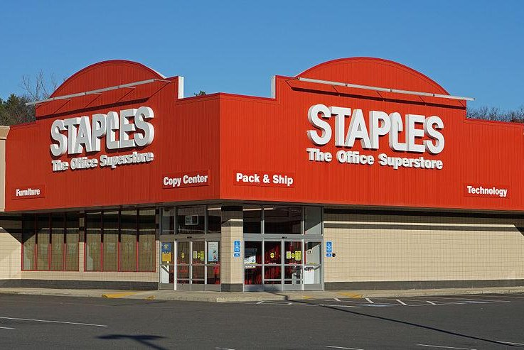 Staples hacked