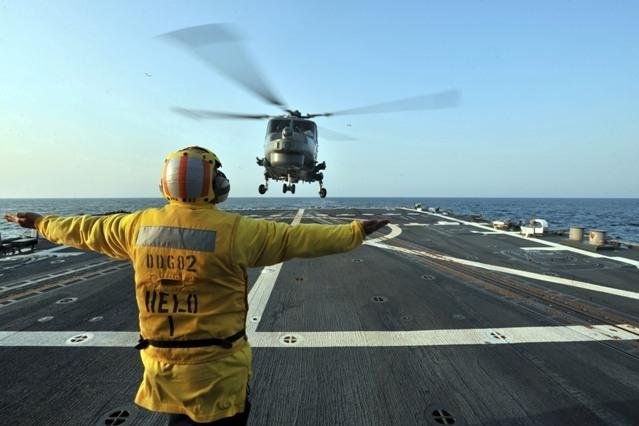 Seahawk Helicopters Provide Punch For LCS Operations