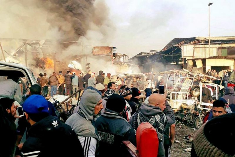 Suicide bomb Baghdad