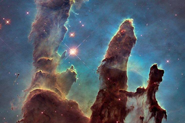 hubble space telescope pillars of creation - photo #22