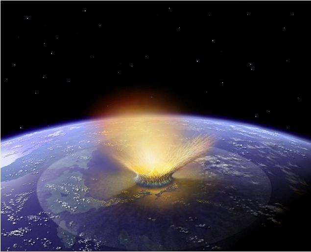 លទ្ធផលរូបភាពសម្រាប់ Meteor impact may have started Ice Ages