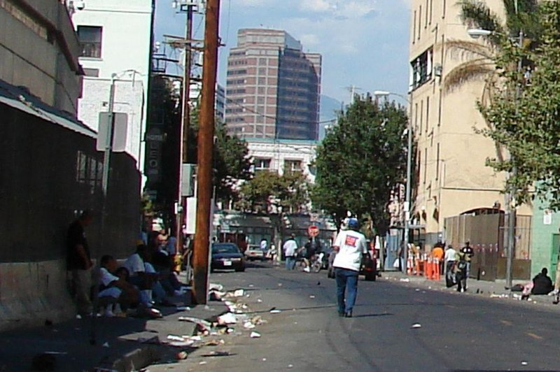 Homeless camps on the rise in los angeles around the u s Best home security los angeles