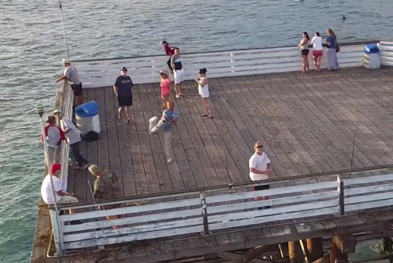 Fisherman Casting Line Watch Fisherman Casts Line