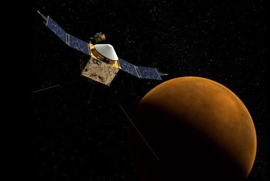 NASA space probe to enter Mars orbit this weekend - UPI.com