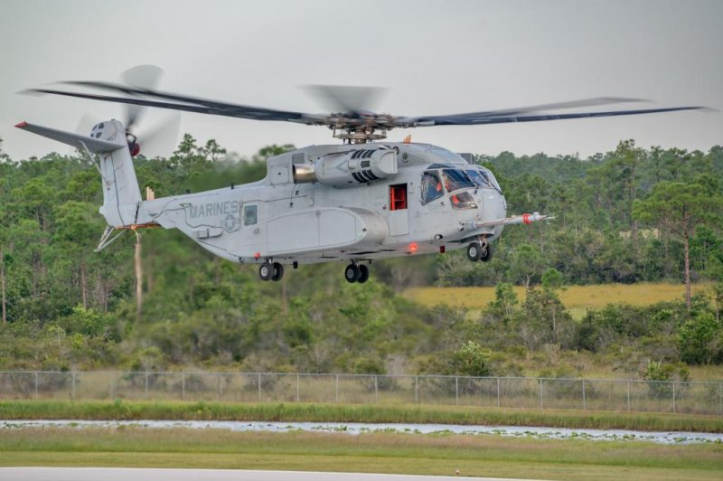 External payload tests held for ch 53k helicopters upi com