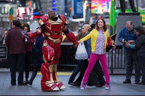 Titus and Kimmy Schmidt