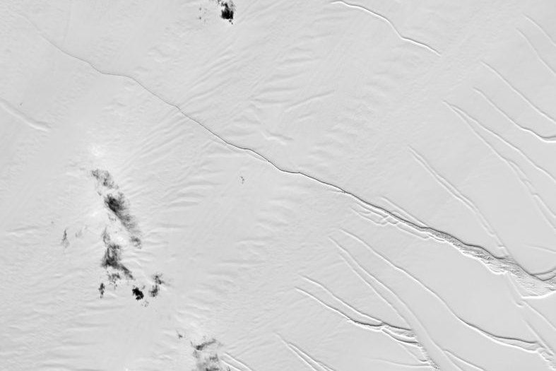 Iceberg Size Of Delaware Poised To Break Off From Antarctica